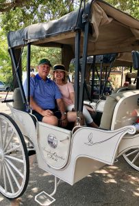 Private horse drawn carriage ride