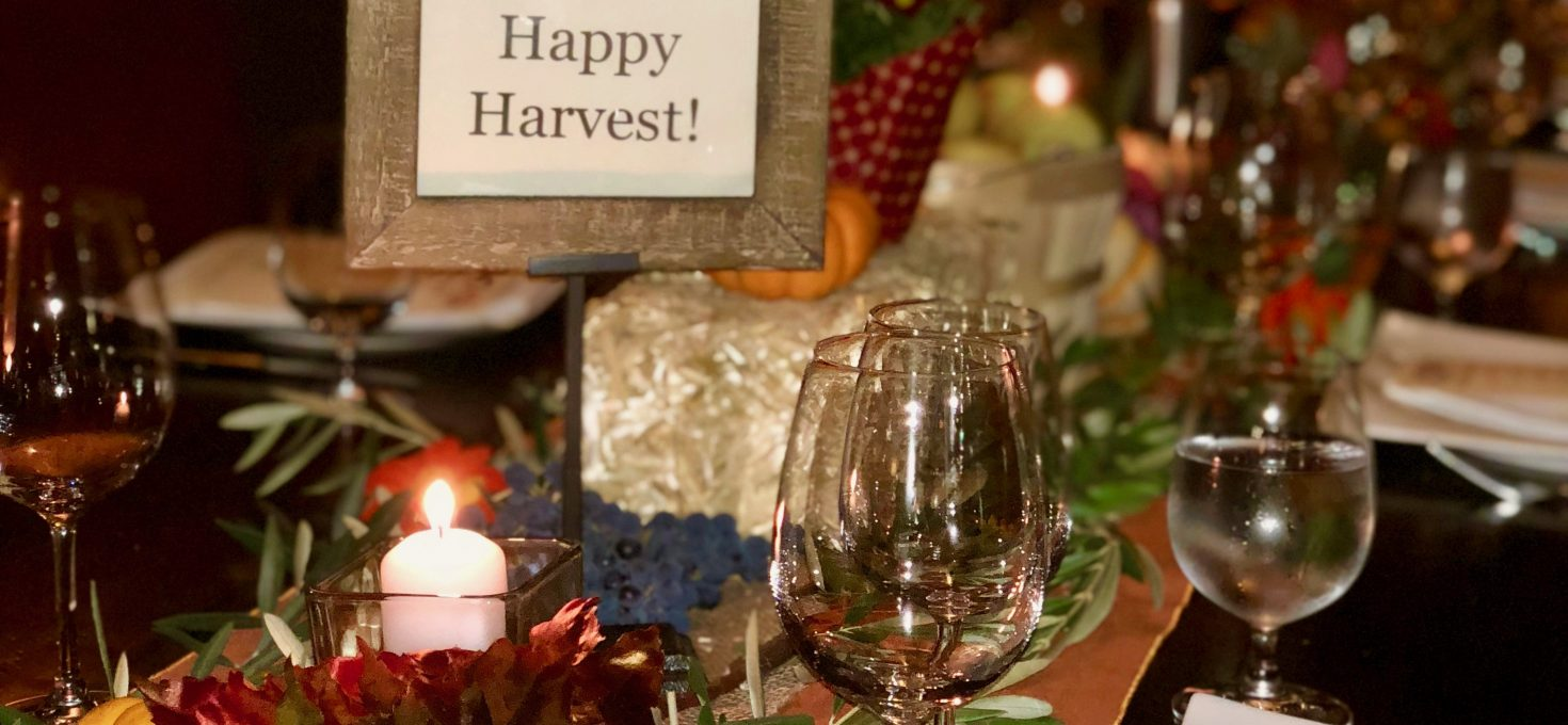 Wine Country Is In Full Swing Here – It's Been A Good Year!