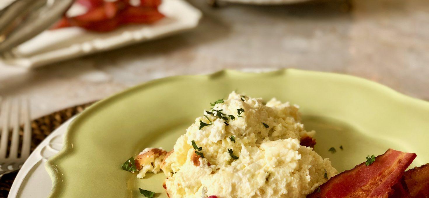 Sunday Brunch Cheese Soufflé – At The Breakfast Bar