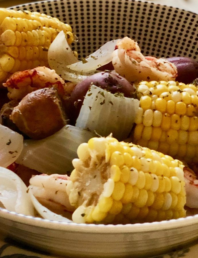 Traditional Shrimp Boil To Please A Few Or A Crowd