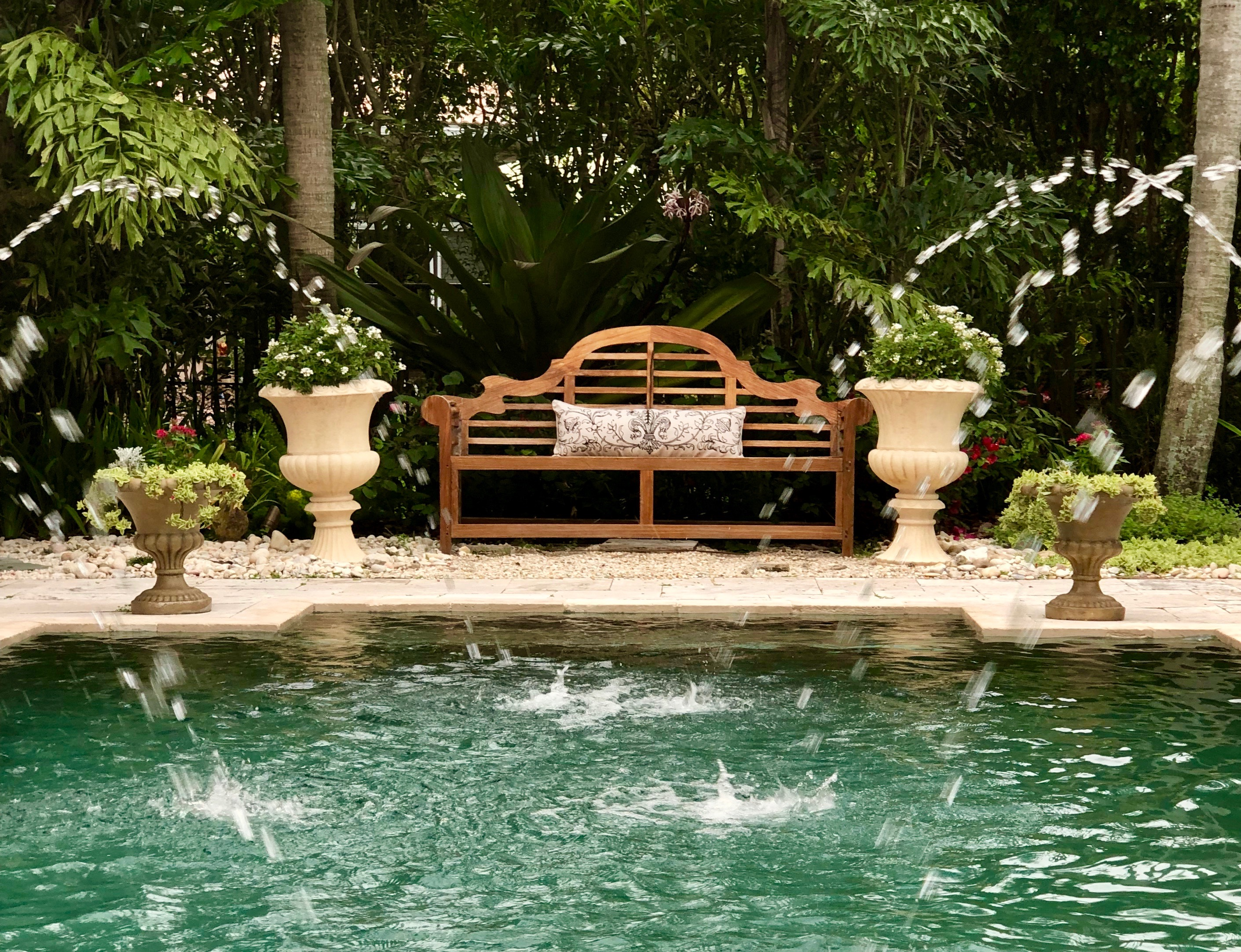 Poolside Fountains Inspired By The Gardens Around The World Book
