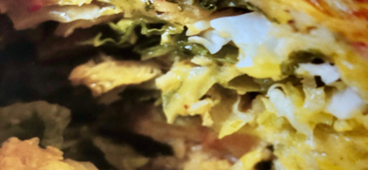 It's Tasty Tuesday — Frenchie Cabbage Galette