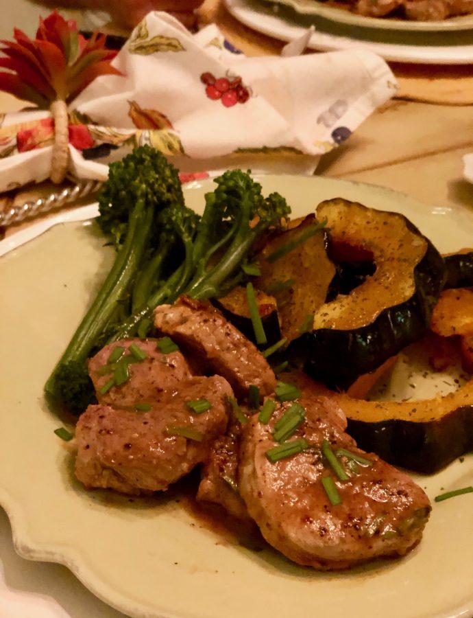 Tasty Tuesday Featuring Tangy Pork Tenderloin Medallions