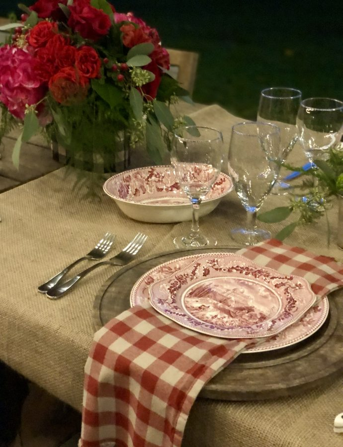 "Have You Ever Been To A ""Chic Pole Barn"" Dinner Party?"