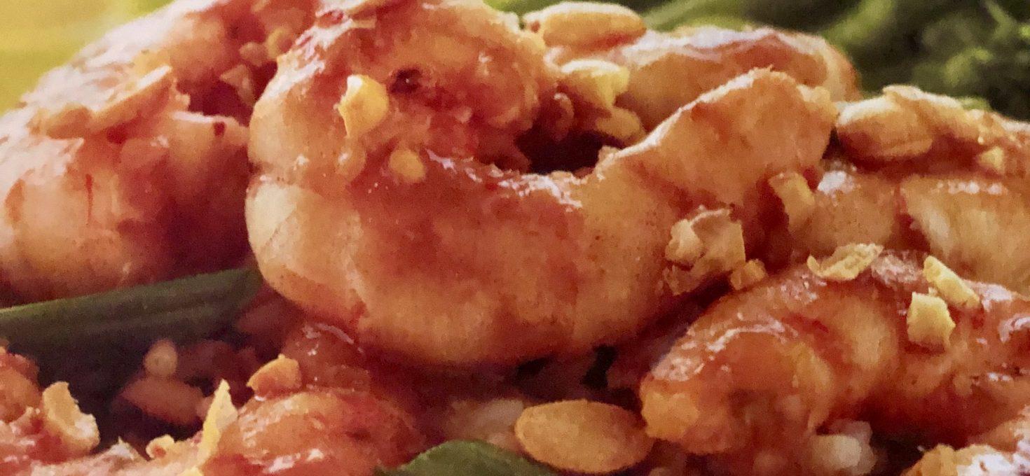 Easy Peasy Weeknight Dinner – Szechuan Shrimp And Crunchy Asian Slaw