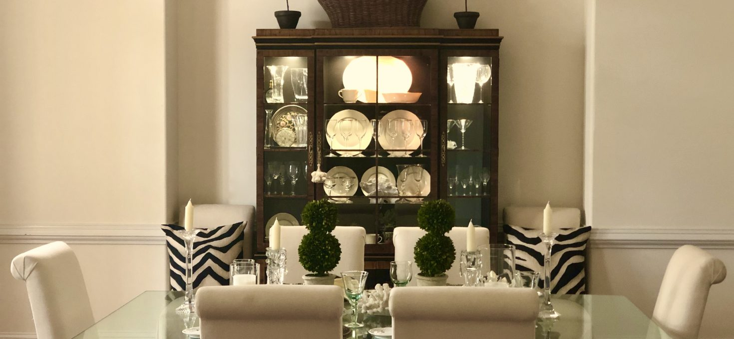Elegant Meets Casual – Dining Room Tablescape