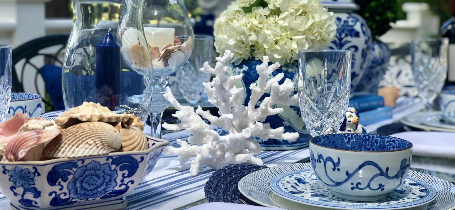 How To Curate The Perfect Tablescape On The Marsh