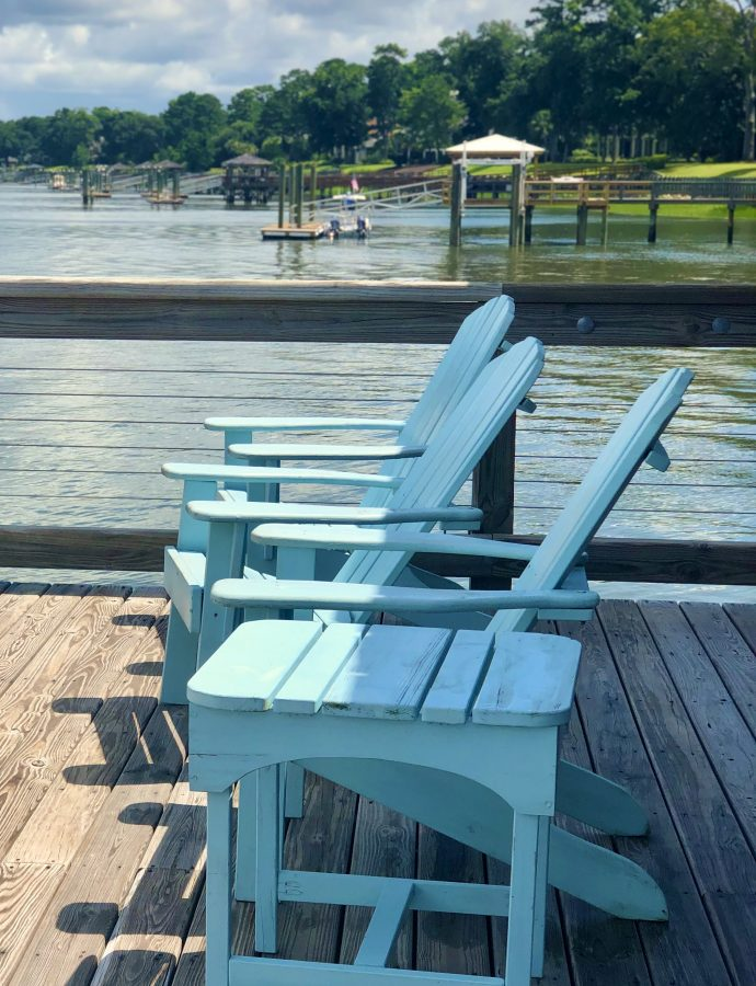 Sittin' On The Dock Of The Bay – Or Maybe The River